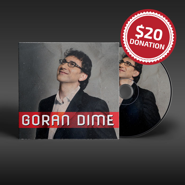 $20 Donation for Goran Dime