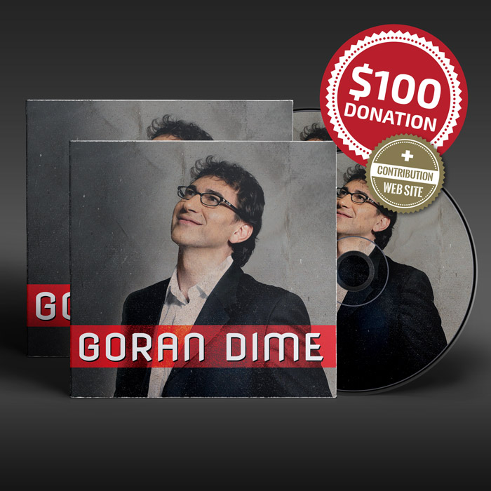 $100 Donation for Goran Dime