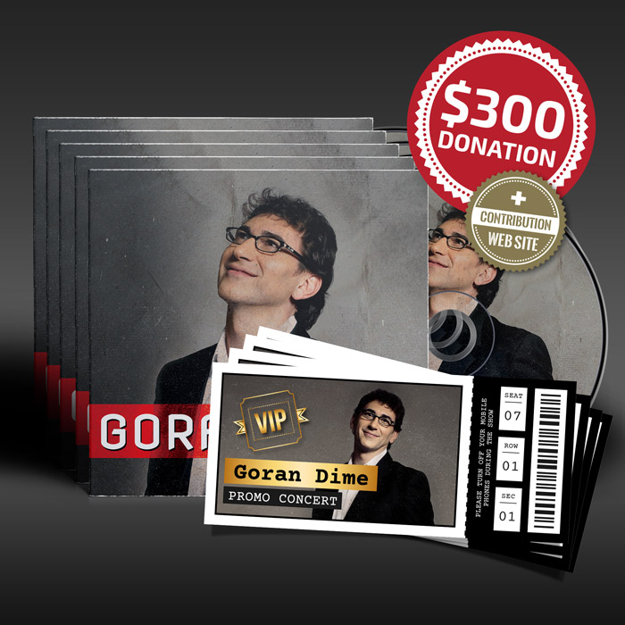$300 Donation for Goran Dime