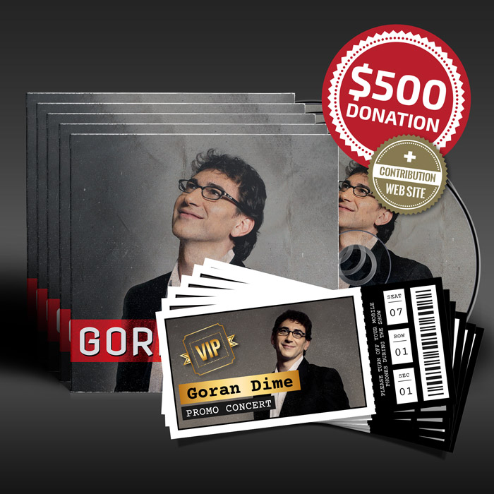 $500 Donation for Goran Dime