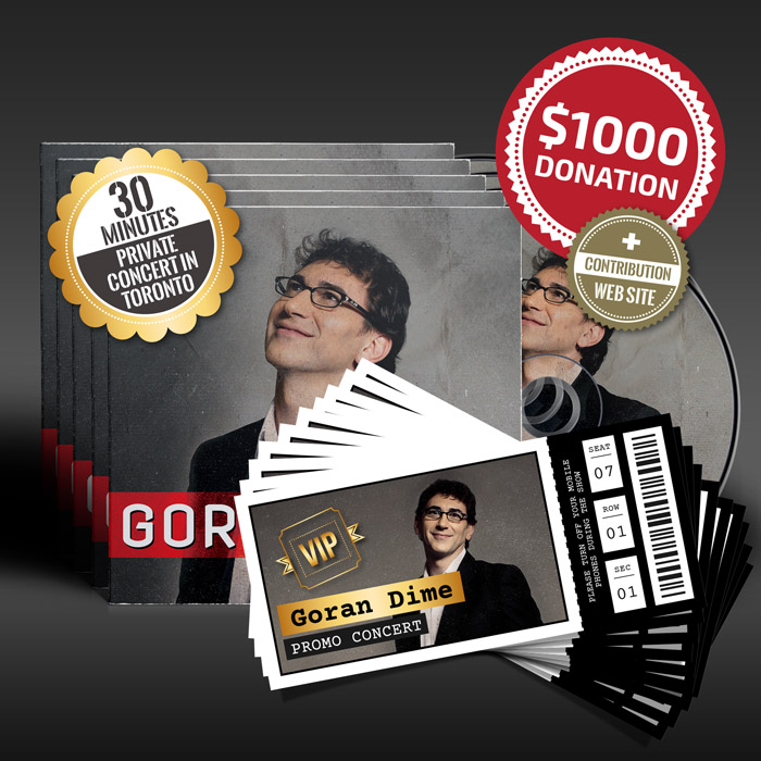 $1000 Donation for Goran Dime